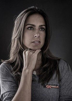 Carol Barcellos, repórter do esporte da Globo