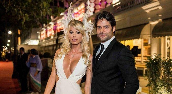 Carol Bittencourt e Jorge Sestini se casaram três meses antes do acidente