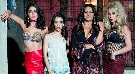 """Carol Castro, Laura Lobo, Dira Paes e Danielle Winits no filme """"Veneza"""""""