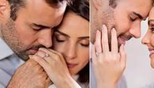 Carol Celico diz que foi surpreendida com joia em pedido de casamento