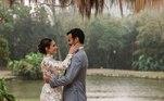 Carol Celico compartilhou fotos inéditas de seu casamento com Eduardo Scarpa nas redes sociais.