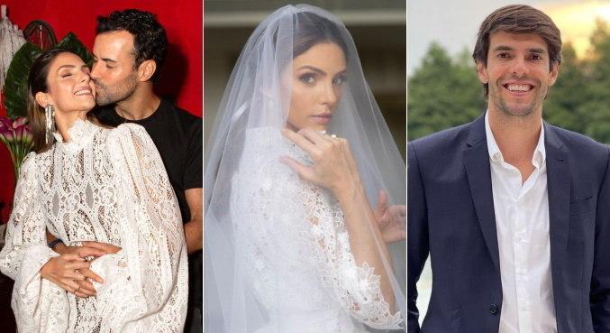 Carol Celico não convidou o ex, o jogador Kaká, para seu casamento
