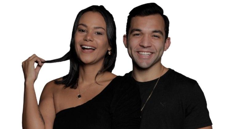 Carol e Jonjon são o quarto casal eliminado de Power Couple