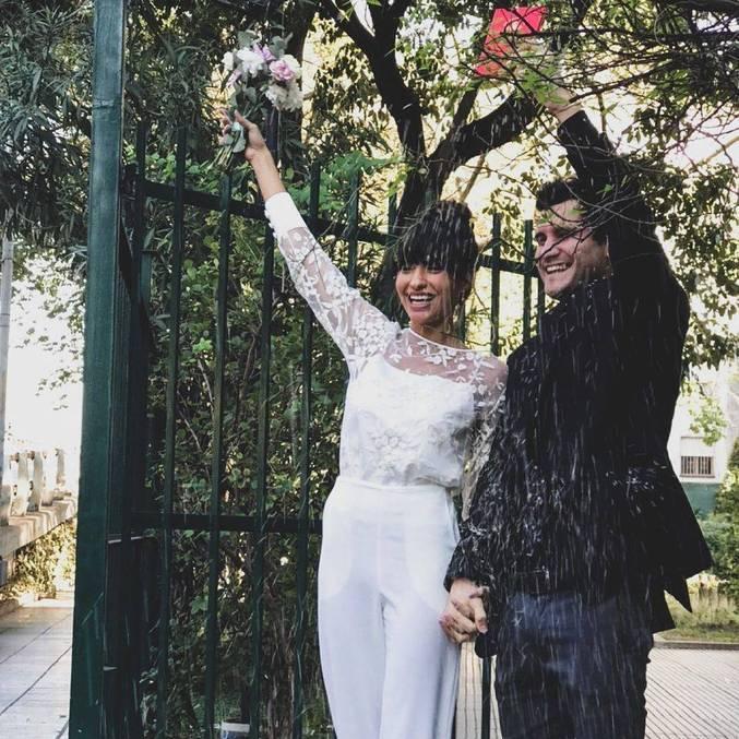 Carol Oliveira e Juan Ciancio