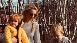 Modelo Carol Trentini diz amar cada filho de forma diferente. Entenda ()