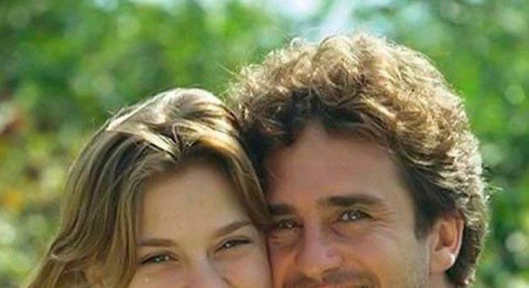 Carolina Dieckmann e Marcos Frota