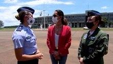 Carolina Ferraz mostra a pesada rotina das mulheres que querem ser pilotos da FAB