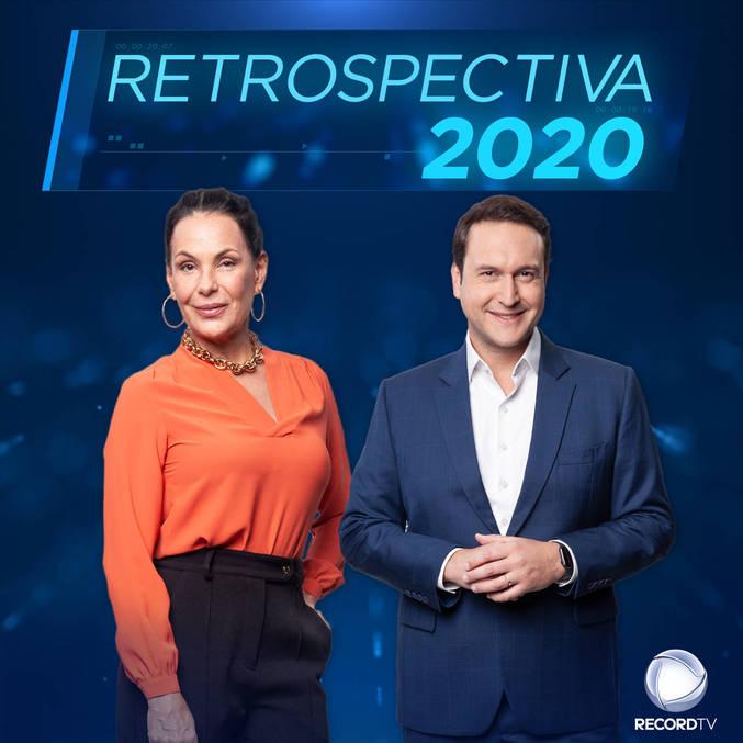 """Carolina Ferraz e Eduardo Ribeiro estarão no comando da """"Retrospectiva 2020"""" da Record"""