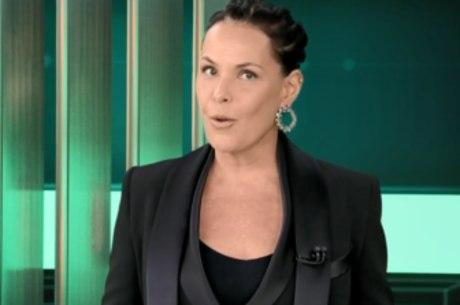 """Carolina Ferraz, apresentadora do """"Domingo Espetacular"""""""