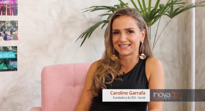 Caroline fundou a Santé após se aprofundar em neurociência