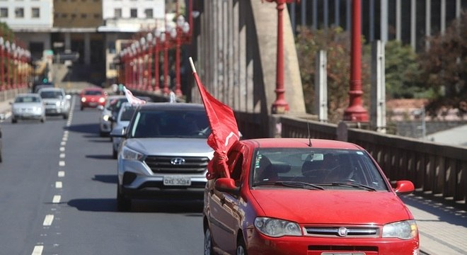 Carreatas devem ocupar ruas da capital mineira