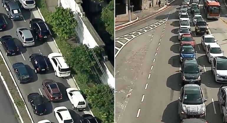Carreatas contra aumento do ICMS ocorrem em diferentes pontos de São Paulo