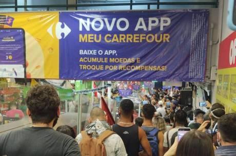 Carrefour de BH foi alvo de protestos na sexta (20)