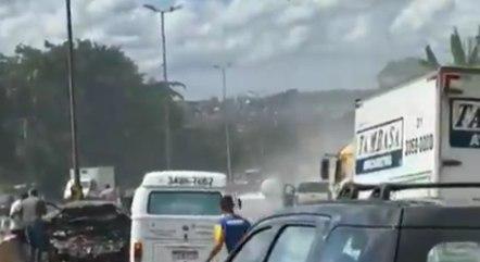 Anel de BH já acumula 5 km de congestionamento