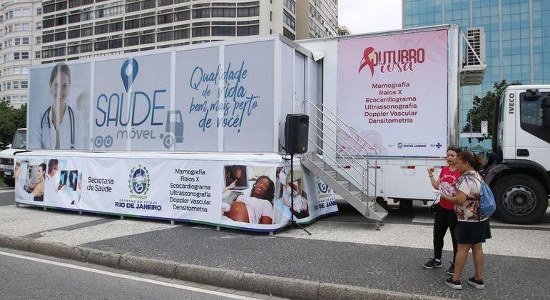 Carreta da Mamografia realiza exames gratuitos na Grande SP em mulheres acima dos 40 anos