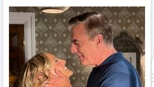 Sarah Jessica Parker compartilha clique inédito de Carrie e Mr. Big