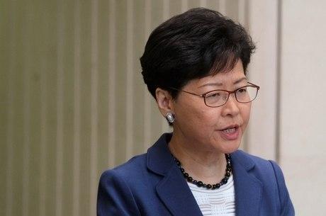 Líder Carrie Lam prometeu levar projeto adiante