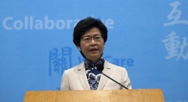 Carrie Lam sofre pressão política por sua administração em Hong Kong