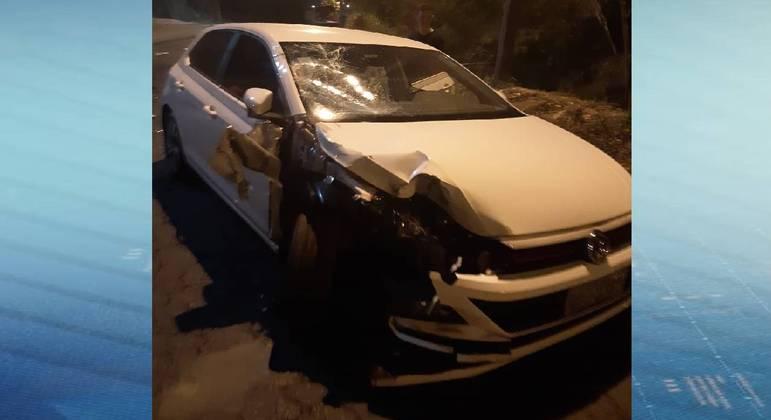 Motorista do carro se recusou a fazer o teste do bafômetro
