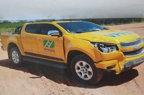 Em 2017 ladrões usaram caminhonete clonada com cores da empresa do aeroporto em um roubo em 2017 em Vitória (ES)