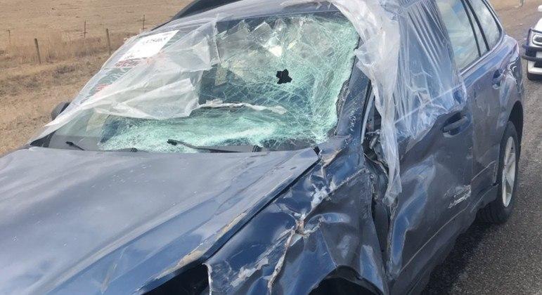 Carro em condição insana foi rebocado após cruzar diversos estados norte-americanos