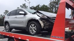 'Foi como se o chão desaparecesse', diz motorista em queda de viaduto ()