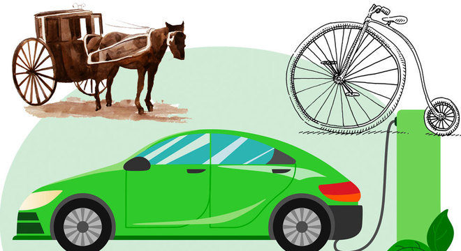 Até os carros mais modernos ainda têm traços do passado