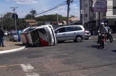 Acidente ocorreu em Franca, no interior de São Paulo