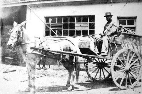 Carroça usada pela família Shimura em 1946