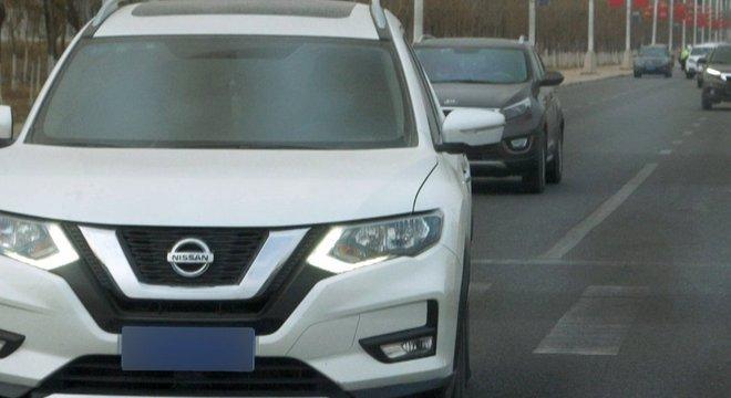 Automóveis sem identificação seguiram equipe da BBC durante boa parte do trajeto