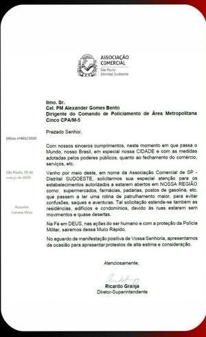 Associação Comercial pede reforço no policiamento em SP
