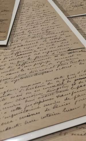 Carta foi escrita a mão pelo Barão Pierre de Coubertin