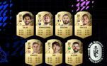 Outros três brasileiros aparecem no top 22 do game. O volante Casemiro (Real Madrid) e os dois goleiros que atuam na Inglaterra, Alisson Becker (Liverpool) e Ederson Morais (Manchester City). Todos com over geral de 89