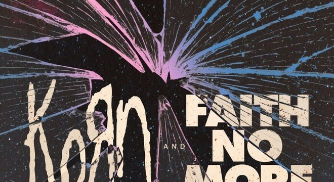 Cartaz da turnê de KoRn e Faith No More