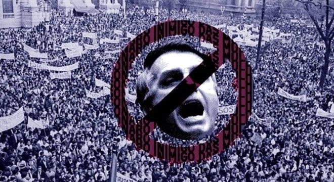 Cartaz de show do Asfixia Social