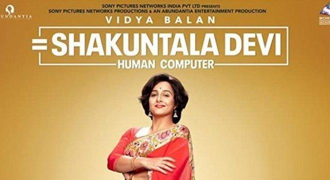 Vidya Balan interpreta a matemática no filme