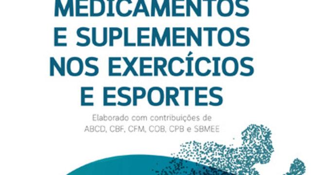 Capa da cartilha que traz informações sobre doping