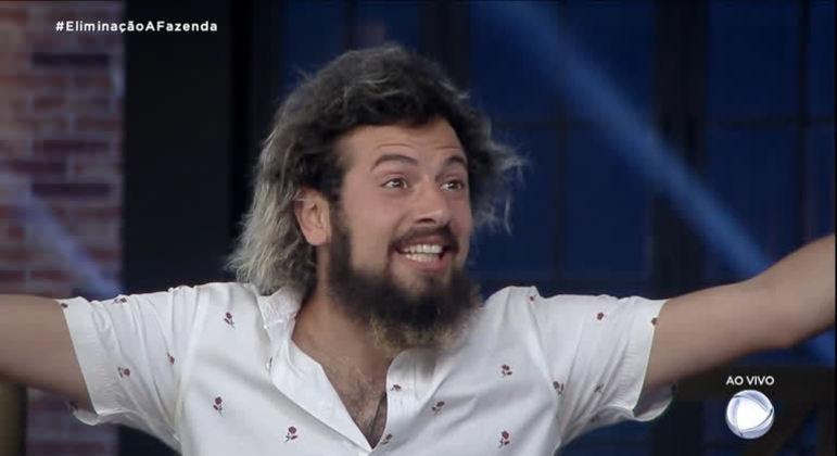 Cartolouco participou da última temporada da Fazenda