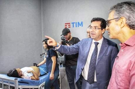 Diretor da Tim apresentou serviços para Romeu Zema