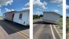 Polícia resolve o mistério da casa abandonada que paralisou estrada