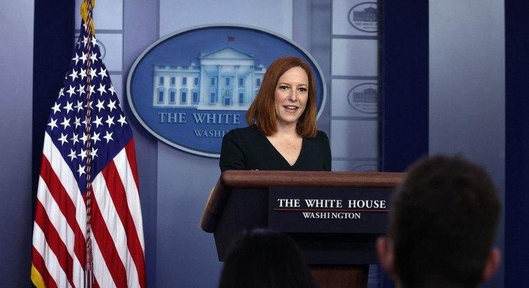 Auxílio vai girar em torno de R$ 108 milhões, segundo a porta-voz da Casa Branca