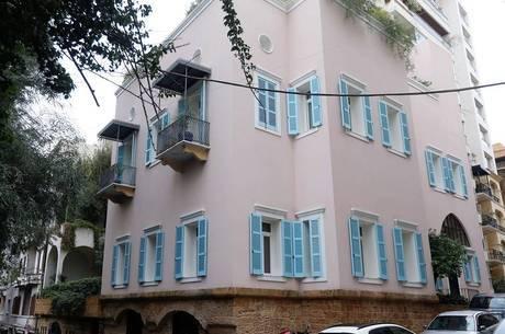 Casa de Ghosn em Beirute, no Líbano