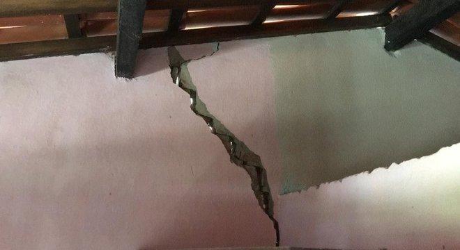 O abalo mais forte registrado na cidade de Amargosa ocorreu no sábado