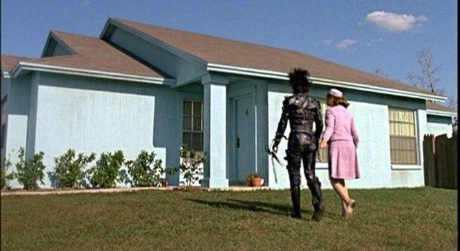 Casa usada em  'Edward Mãos de Tesoura' fica na Flórida