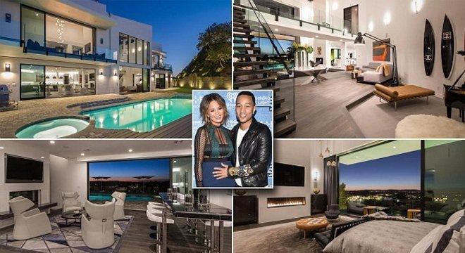 Casa de John Legend e Chrissy Teigen custa R$ 133 milhões