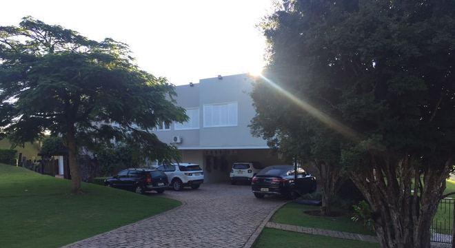 Residência que foi alvo de busca da operação na cidade de Bragança Paulista (SP)