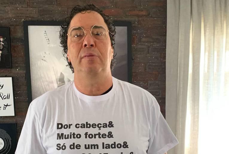 Casagrande recuperado da Covid. Globo segue contraditória em relação à pandemia