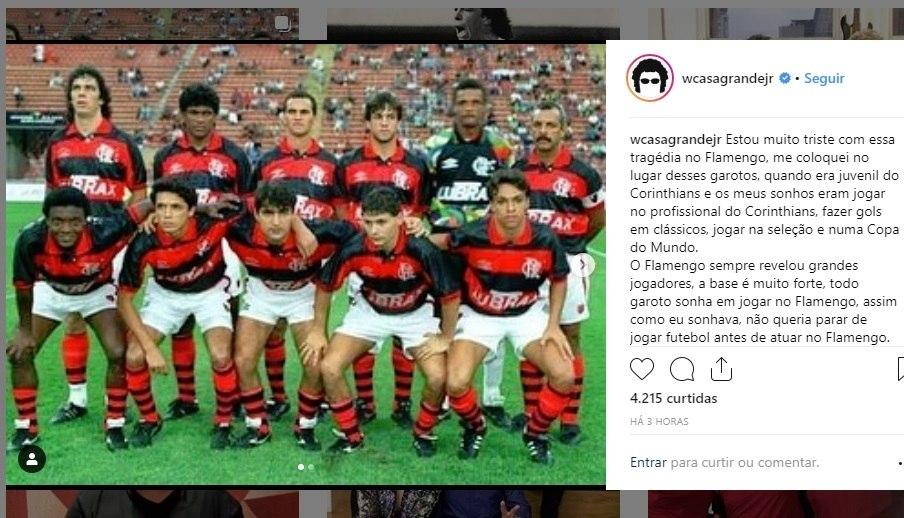 Clubes E Jogadores Mandam Mensagens De Apoio Ao Flamengo