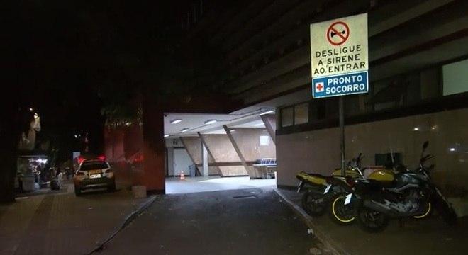 Casal foi levado para o Hospital João 23 após ter sido baleado