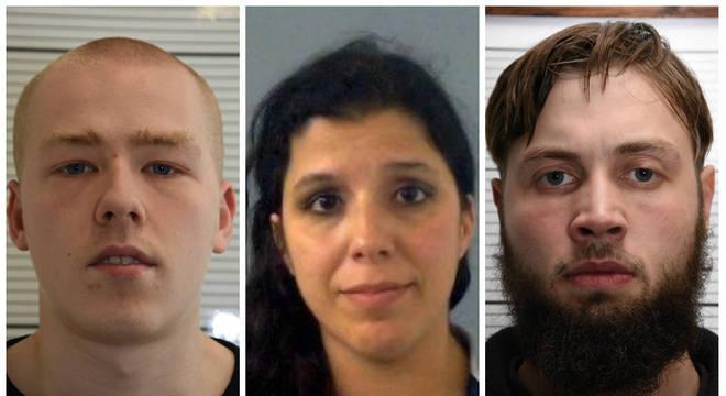 Thomas, Claudia e Bogunovic participavam de organização de extrema-direita